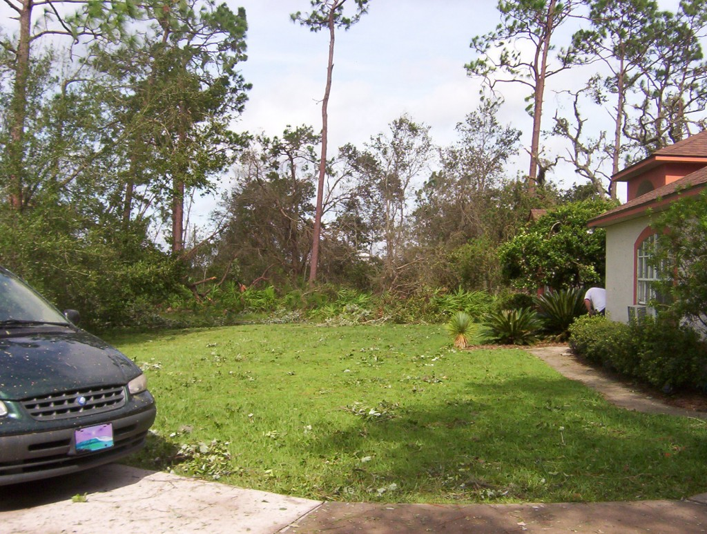 Hurricane Charlie damage 8-04 042