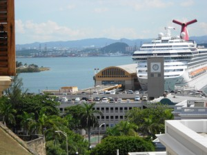 SanJuan from the fort